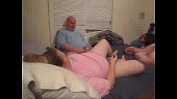 daughters sleep mom bed fuking dad on while Asian business girl groped