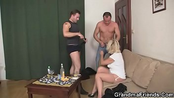glasses blonde mature threesome with Rachel starr college invasion