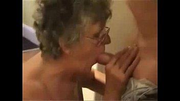 bus granny grope old Lesbian short hasi