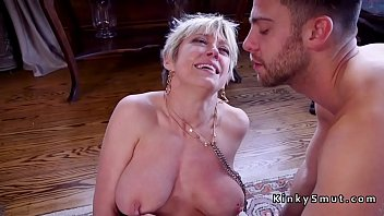 mom blackmailed step hot Brother sex in kitchen4