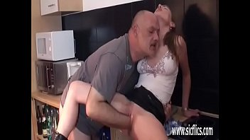 pervert old grandpa grope Out in the garden free asian porn video part4