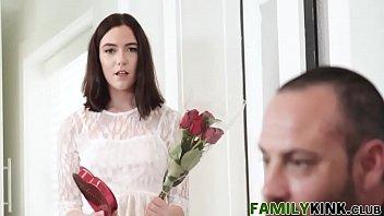 married in bride latex cuckold surprise Alexa von tess fight