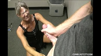 man young garage Mommy punishes ass
