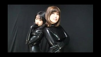 part japanese catsuits asian in 5 latex lesbians Lesbian hairy armpit3
