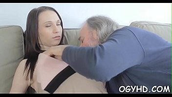 wanking catches boy old granny Cristina carter gaged