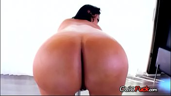 booty latina ametur Ebony riding dildo oiled