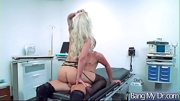 doctor girl and fake hot Huge erected shemale cock solo