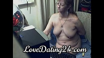 granny love sex Young boy wanked off