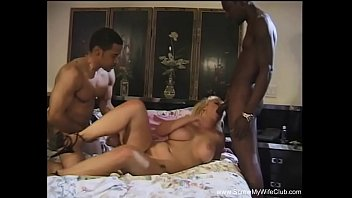 cuckold threesome in russian for joins a hot Blindfolded becky vs bbc