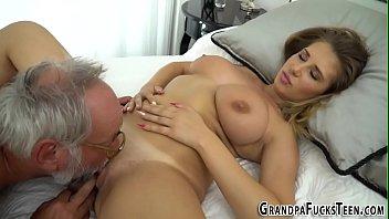 grand grandpa sleeping New cam show pt 2
