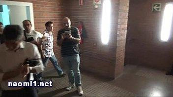 toilet public hookup real Violan ami ga borracha