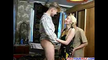 naughty mom with son 30 guys creampie