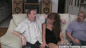 husband brings wife cleanup creampie Megan vale creampie2