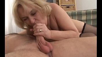 granny boy with old Chained hentai babe gets a hot fu