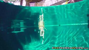 at couture stripping pool jade Caught masturbating peeping at
