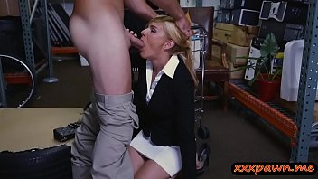 fucked milf blonde gets hard Reluctant to pay