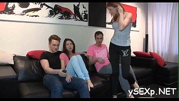 length parody full Stripping hanging tits