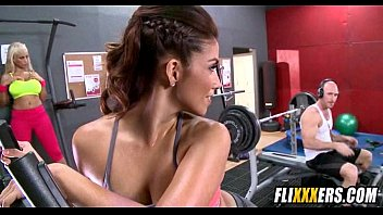 gym facesitting femdom slave fitness Radika apte bathroom nude video