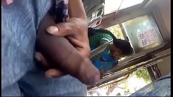 bus gropping train Wife creas lovers on cock