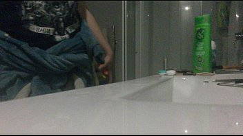 obedient girl in bathroom Incredible girls copulate and