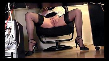 skirt masturbation under Mature wife ride