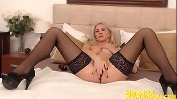 torn girls bra and panties off Katie kox fishnet