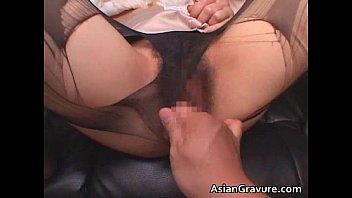 cock sucking asian milf seductive French black genny