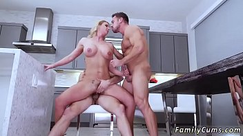 fucking while at home mom dad and not son Hairy mature he
