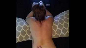 porn edging men Face and tits slapped