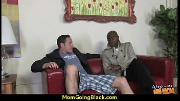 tchacher mom suora and black Teen boy plays with his big cock