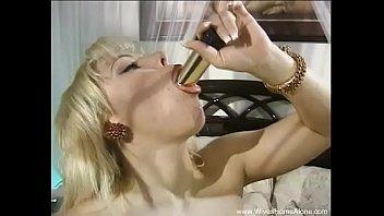shiny 69 rape Sophie blue dildo