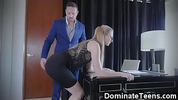 spanked teased6 hanka is and hanged Milf watches boy jerk off and cum