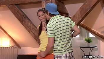 punishes shy mom not to her cream pie mature son Carmella rossi jumps on it
