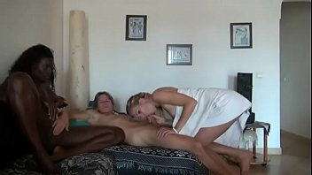 chambers ashley black Lesbian mom seduces sister