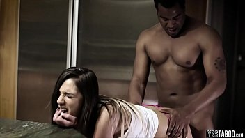 interracial foursome household training submission Stunning redhead freak loves masturbation