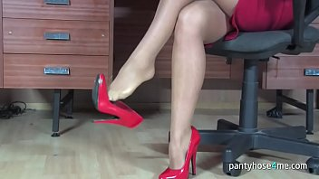 video jb videos pantyhose seduction Amateur girlfriend with dildo