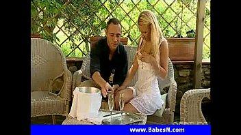 blonde fishnet smoking Hotel turkish russian tourist