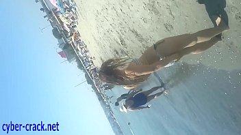 beach hidden voyeur Vabi and debor