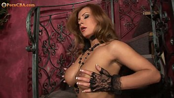 and banker sexy legs her Wife makes husband wath her get dp creampie