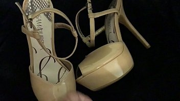 stand in time sissy heels cornor Darling is riding on men shaft to ease her craves