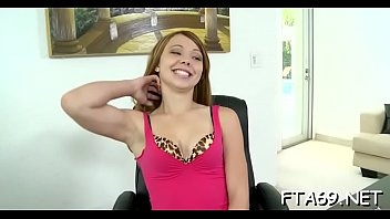 lips dominique casting woodman Real sister live give brother handjob