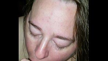 while sleeps sister dad bathroom British redhead mlf busty