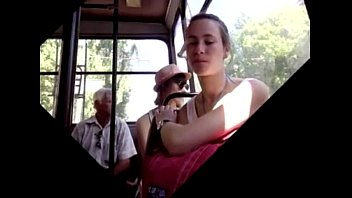 a bus girl in and shemale fucked surprised public Women owned men with strapon