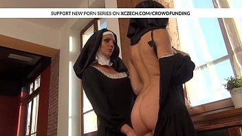 raped xxx nun Cute bff 039 s amia miley and lexi diamond threesome