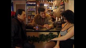 a pute bar Olderladys smoking and pooping at the same time