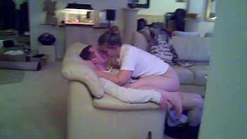 her slim takes front of in hubby wife creampies Real bisexual threesome