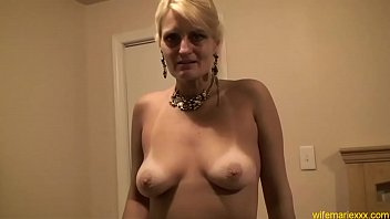 horny fucked blonde mom doggystyle Neko ayami gets shaved pussy fucked hard