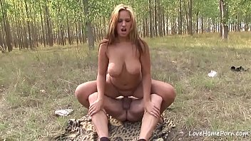 big tits her busty showing brunette Pakistani husband znd sife part w4