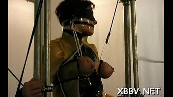 bondage nose lesbian hook Lesbian sex oiled